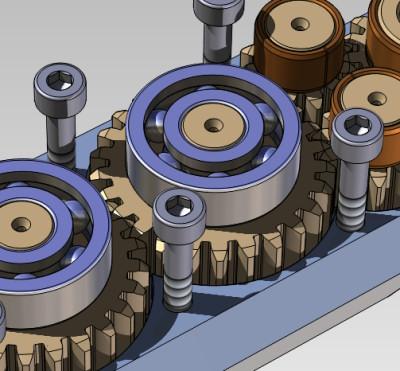 Modely z nadstavby TDS-TECHNIK pro Solid Edge